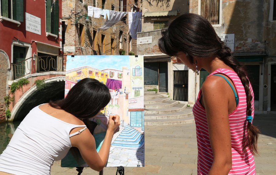 drawing painting courses venice